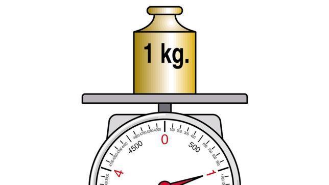 El kilo ahora pesa menos