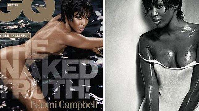 Naomi Campbell Se Desnuda Para La Revista Gq