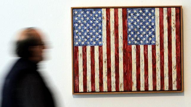 «Flags» (1987). Las banderas son muy representativas en Jasper Johns- Rober Solsona