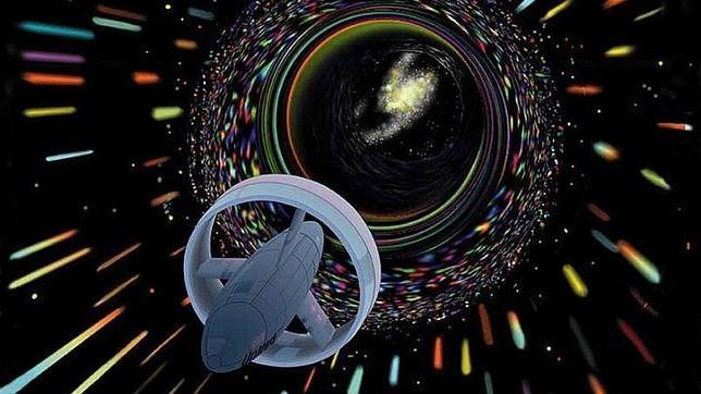 Un agujero de gusano entre dos estrellas