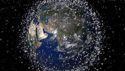 Decenas de miles de objetos se calculan en la órbita de la Tierra