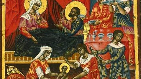 «Birth of the mother of God», una de las seis reliquias griegas. THE GUARDIAN