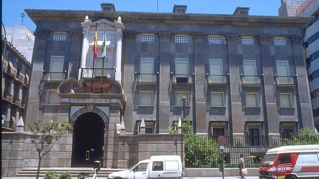 La que fue sede del banco de espa a en granada for Sucursales galicia cordoba