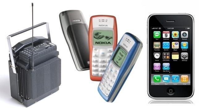 La evoluci�n de los tel�fonos m�viles, en im�genes