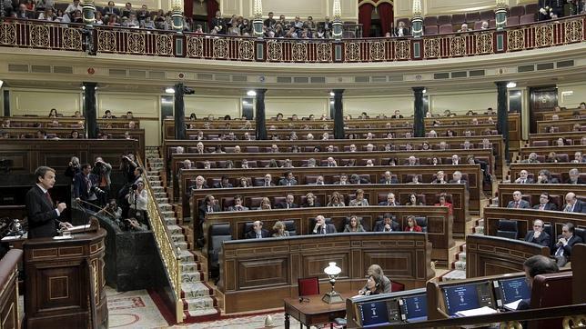 El Congreso avala la misión española en Libia con sólo tres votos en contra