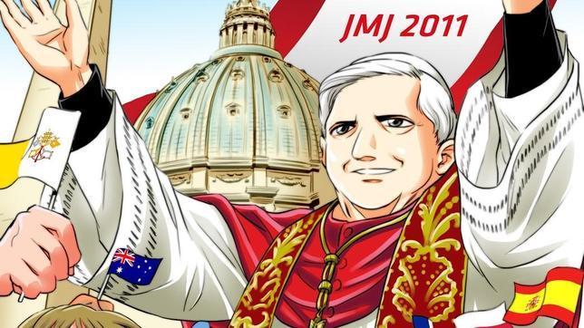 El cómic manga de Benedicto XVI
