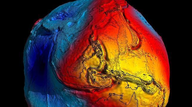 El campo de gravedad de la Tierra se parece a una patata y no es una esfera
