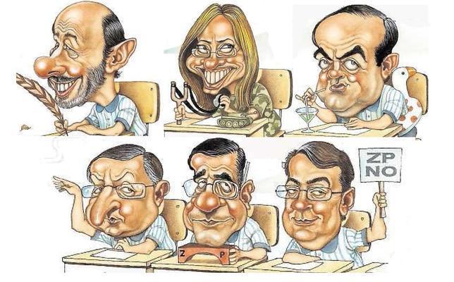 Candidatos a reflotar un partido hundido