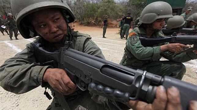 Los niños soldado de Chávez