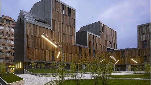 EL edificio galardonado, de Bernardo Angelini y David Casino. ABC