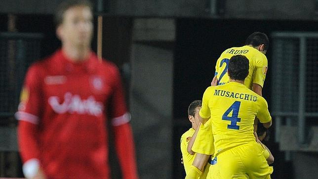 Villarreal finaliza su trámite triunfal