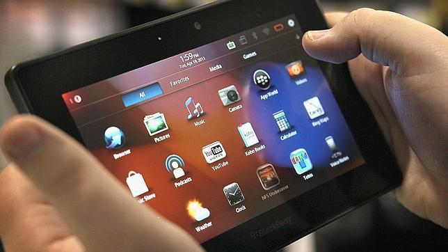 El tablet de Blackberry se da un batacazo