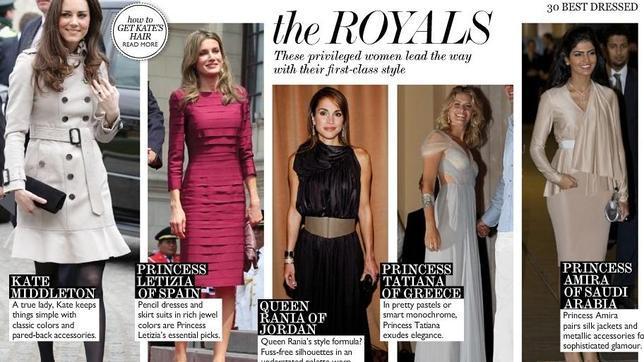 Las mujeres mas bien vestidas del mundo
