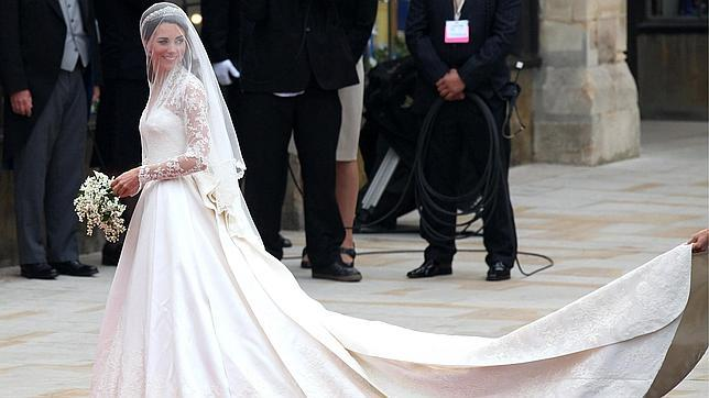 El Vestido De Novia De Kate Middleton Es De Sarah Burton