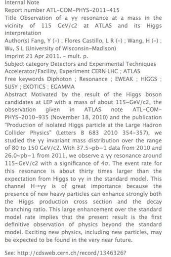 ¿Se ha detectado ya el bosón de Higgs?