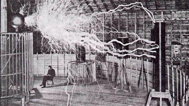 Nikola Tesla y su «rayo de la muerte»