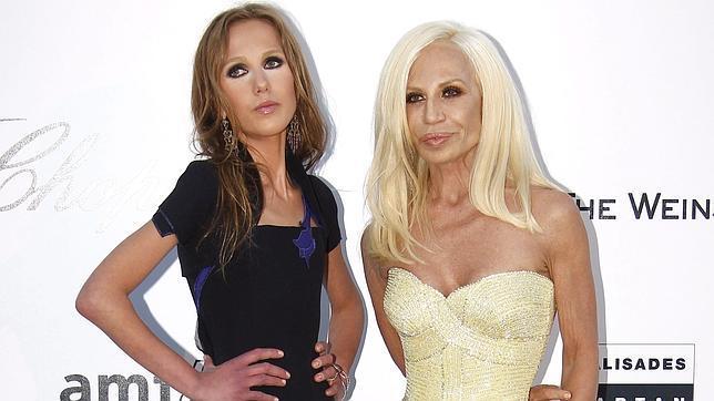 Donatella Versace Y Su Hija