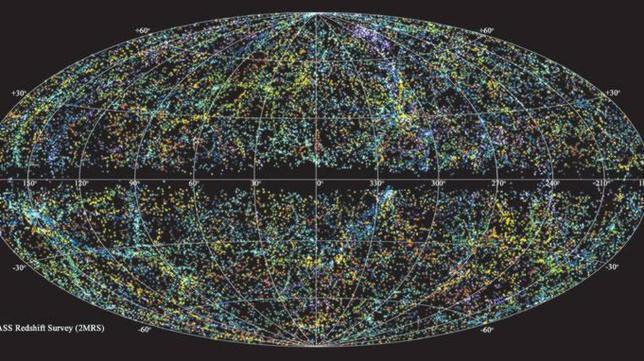 Construyen el mapa más detallado del Universo en 3D