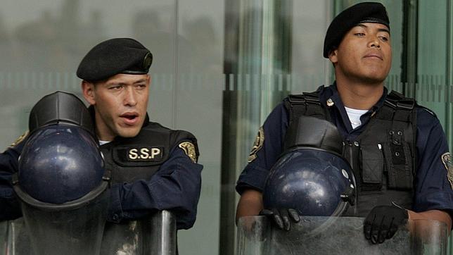 El gobernador de Veracruz despide a más de 800 policías
