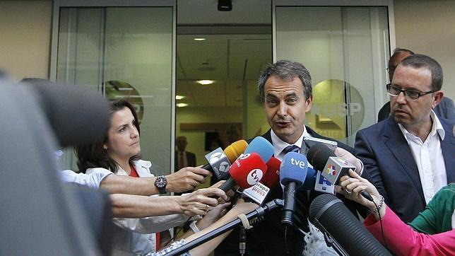 Zapatero visita al Rey