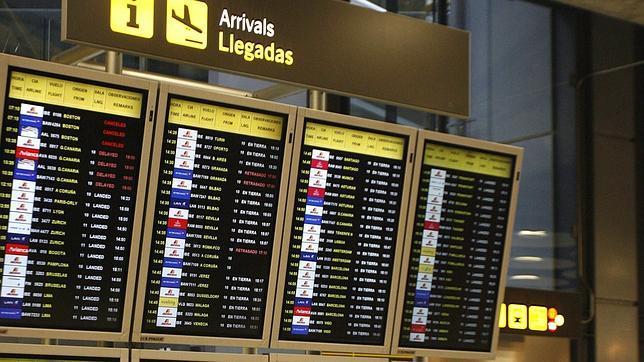 llegadas terminal 1 barajas: