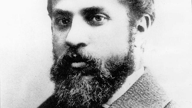 Gaudí, en 1878, a los veintiséis años de edad
