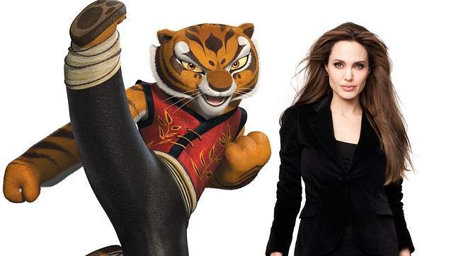 Angelina Jolie: «A veces me siento un poco tigresa»