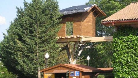un hotel navarro construye la primera habitaci n en un