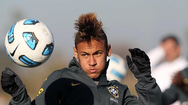 Neymar, cresta
