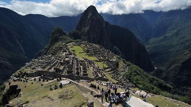 Machu Picchu ante la preparación de las celebraciones por el centenario de su descubrimiento. CRIS BOURONCLE/AFP