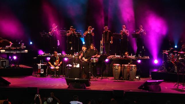 Madrid recibió la «salsa dura» de Rubén Blades