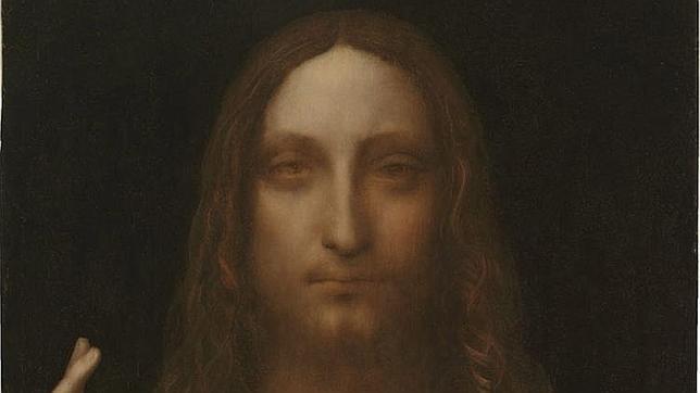 El cuadro «Salvator Mundi», de Leonardo da Vinci. AFP