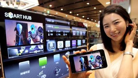 «Smart View» de Samsung, la televisión en el móvil