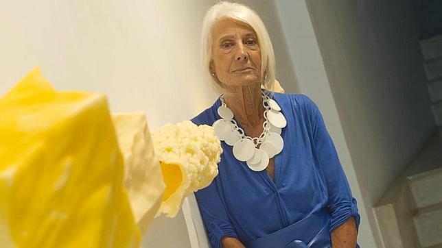 Soledad Lorenzo,como regalo para sus bodas de plata, prepara exposiciones en dúos. DE SAN BERNARDO