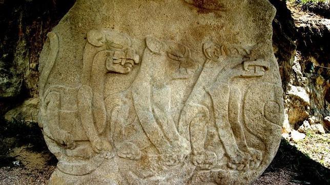 El relieve olmeca de más de 1.5 metros de altura es el último monumento descubierto en Chalcatzingo