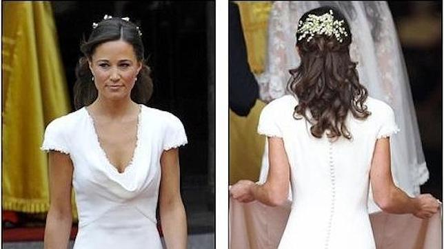 Vestido novia hermana kate middleton