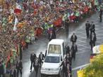 Directo: El Papa, recibido en el Palacio de la Zarzuela como jefe de Estado