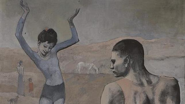 «La acróbata de la bola», de Pablo Picasso. The State Pushkin Museum of Fine Arts, Moscow