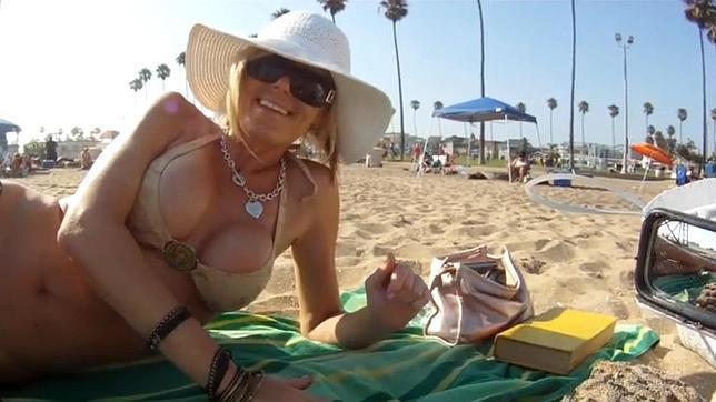 como ligar en la playa