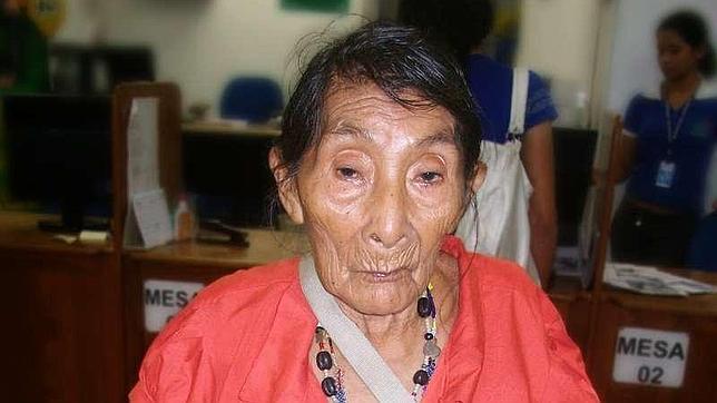 Una indígena brasileña de casi 121 años