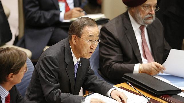 La ONU descarta por el momento la presencia de cascos azules en Libia