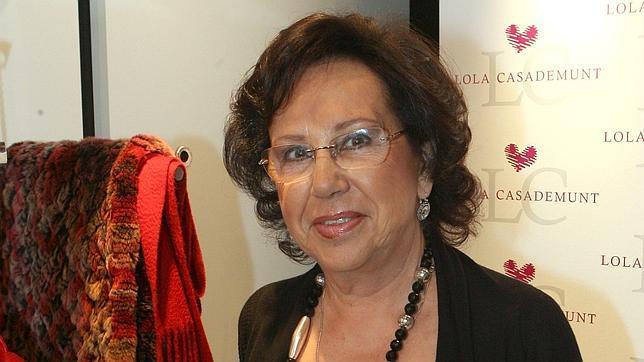 Lola Casademunt «Con 80 años sigo trabajando. Moriré con las botas puestas»