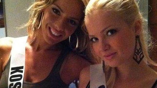 La polémica foto de Miss Serbia y Miss Kosovo en Facebook