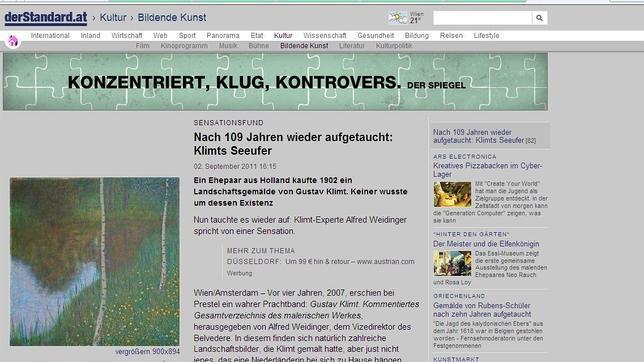 El diario vienés «De Standard» ha publicado la imagen. DE STANDARD