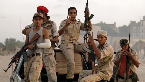 Los rebeldes, en uno de los últimos bastiones de Gadafi