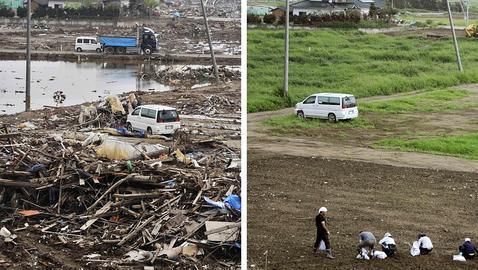 Sendai, seis meses después