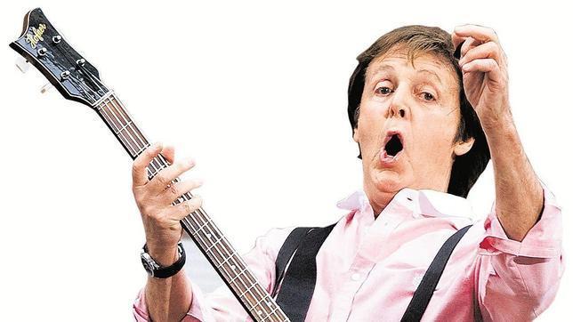 Los Grammy premiarán a Paul McCartney