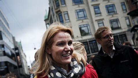 La socialdemócrata Helle Thorning-Schmidt