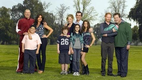 Los protagonistas de «Modern Family»