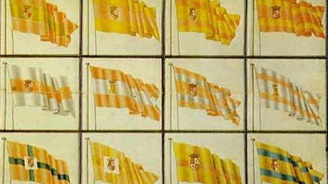 El origen de los colores de la bandera española